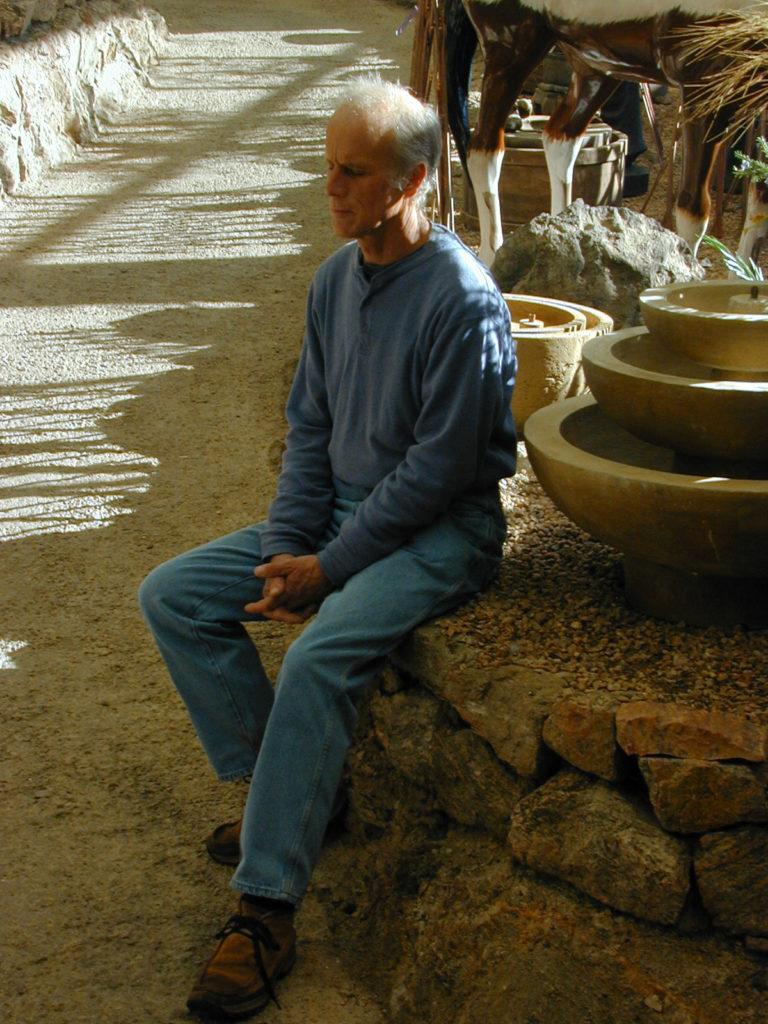 gord-meditating