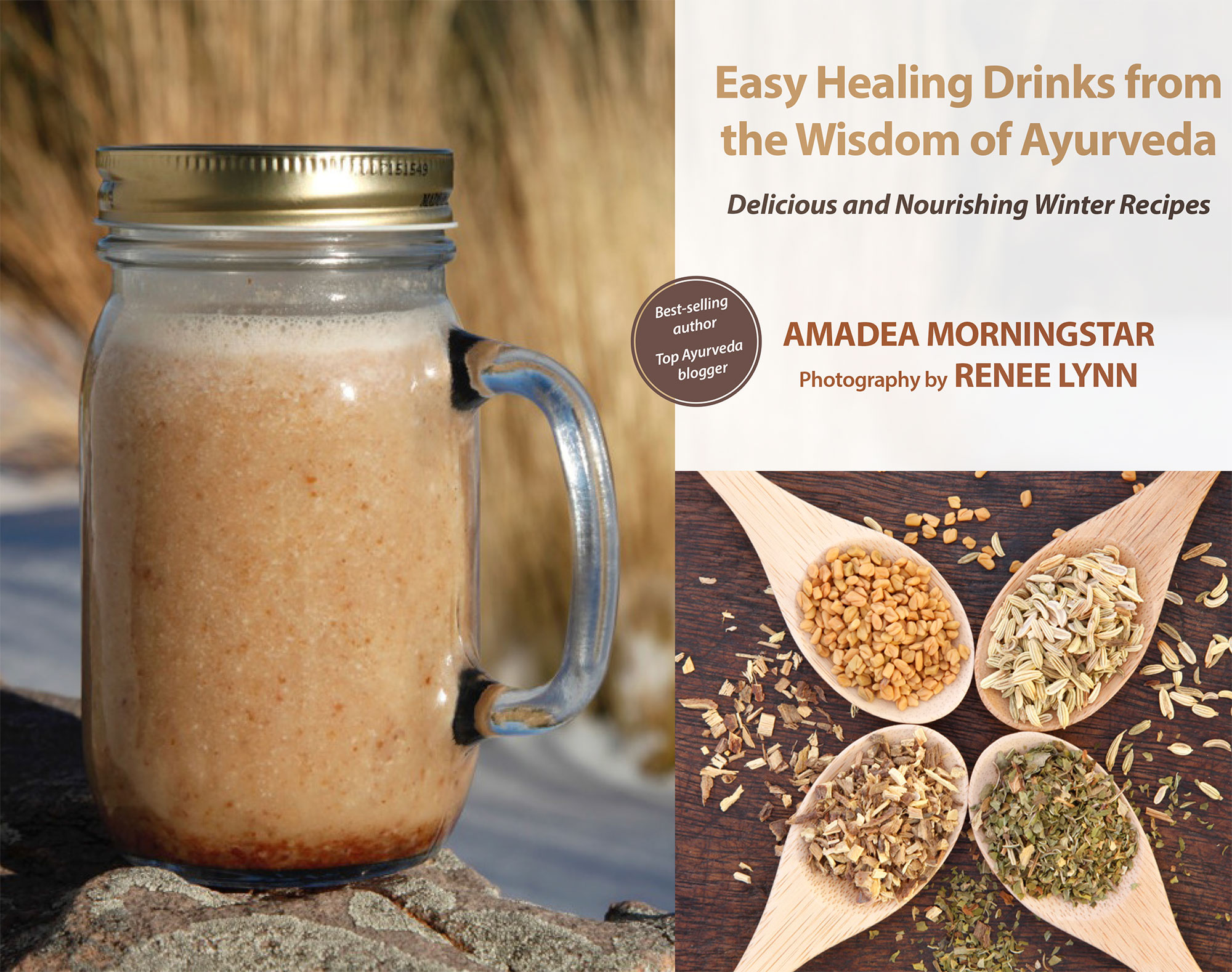 Easy healing drinks from the wisdom of ayurveda delicious and easy forumfinder Images